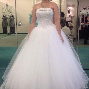David's bridal new wedding dress